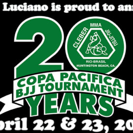 Copa Pacifica BJJ tournament 2017